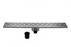 Easydrain Fixt 30 afvoergoot zij-uitlaat 9,8 x 90 cm. rvs EDFT90030