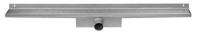 Easydrain Compact wall zero afvoergoot 6x100 cm. zijuitlaat rvs EDCOMWZ100050