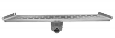 Easydrain Trapezium multi goot 70x89,6x9,8 cm. met sifon rvs EDMTRAP700