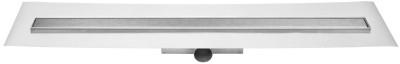 Easydrain Compact ff zero afvoergoot 70 x 6 cm. zijaansluiting rvs EDCOMFFZ70050