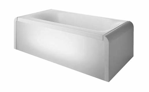 ideal standard moments ligbad 180x90cm kunststof wit k634201. Black Bedroom Furniture Sets. Home Design Ideas