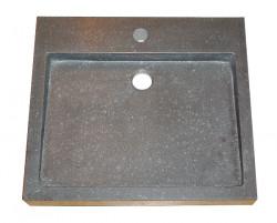 Blusani Basalt Stone wastafel 50 cm BB302100