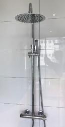 Blusani Stilo douchecombinatie met regendouche chroom BS122100