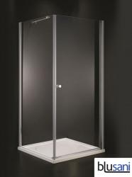 Blusani Edge douchecabine 900cm draaideur helder glas BE106900
