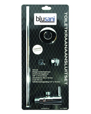 Blusani toiletkraan aansluitset BT01101