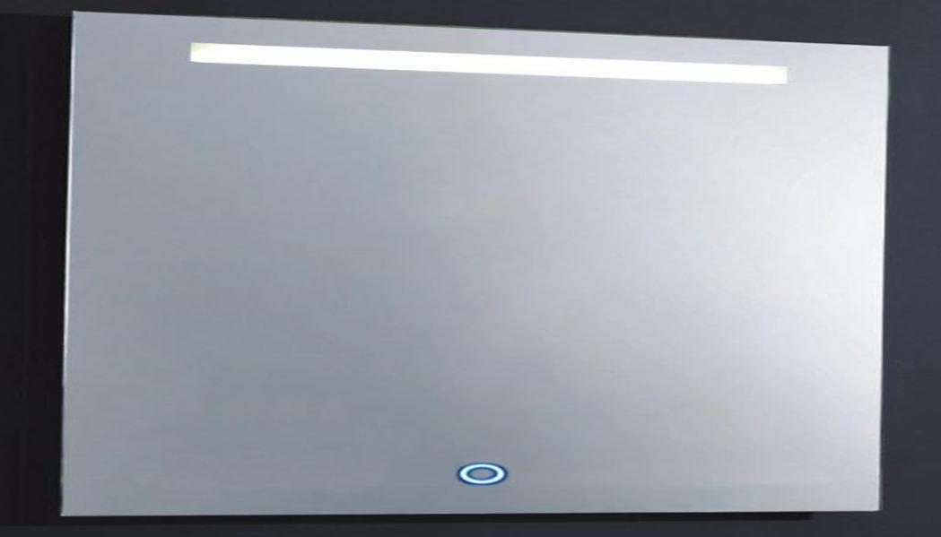 Wonderbaar Blusani Miami spiegel 120 x 80 cm met LED verlichting BM01120 XC-41