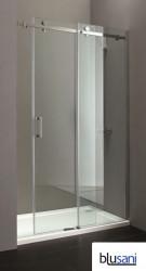 Blusani Chicago schuifdeur 110-120x200 voor nis of korte vaste wand helder glas BS49110