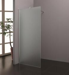 Stern Inloopdouche 100x200 cm zilver melkglas ST4910