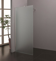 Stern Inloopdouche 120x200 cm zilver melkglas ST4912