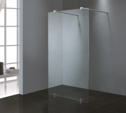 Stern Inloopdouche vrijstaand 120x200 cm zilver helder glas ST4003