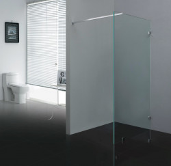 Stern Inloopdouche profielloos 100x200 cm zilver helder glas ST4200
