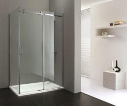 Stern Douchecabine Slide 90x120 cm zilver helder glas ST4047