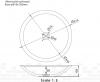 Solid-S Top opbouwwastafel rond mat wit B51.5xH10.5cm 1207917082