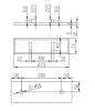 Solid-S Wall wastafel vierkant mat wit B30xD30xH10cm geen kraangat 1207917162