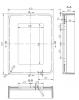 Solid-S spiegel 45x60 cm mat wit SOLSSP28