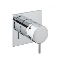 Waterevolution Flow inbouw douche- badmengkraan chroom T142B01