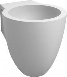 Clou Flush fontein (flush 6) met voorbewerkt kraangat met plug en bekersifon aluite PhotoFreestanding