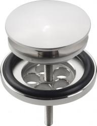 Clou Mini Wash Me plug met afdekkap niet afsluitbaar chroom PhotoFreestanding