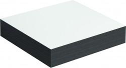 Clou Match Me planchet wit melamine en zwart eiken t.b.v. kolomkast en ladekast 40cm inclusief bevestiging PhotoFreestanding