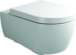 Clou First wandtoilet met toiletzitting met deksel soft-closing en quick release systeem wit keramiek PhotoFreestanding
