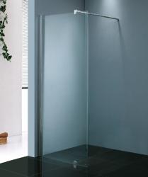 Stern Schuif hoekinstap 100x100 cm zilver helder glas ST4284