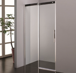 Stern Douchedeur Slide Softclose 140x200 cm zilver helder glas ST4222