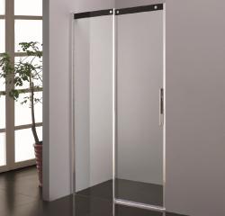 Stern Douchedeur Slide Softclose 140x200 cm zilver helder glas ST4223