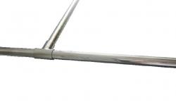 Stern Inloopdouche T-stuk stabilisatietang zilver ST40351