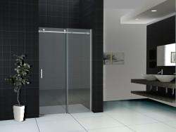 Aquadesign Nano Douchedeur nis met 2 deuren 120x200 cm zilver helder glas 8mm BNG12081