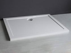 Aquadesign Luxe douchebak rechthoek 120x80x4cm wit BNG1284