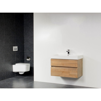 Stern Wood spiegel Grey Oak 80x70cm SW30090
