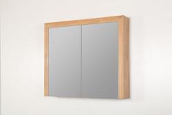 Stern Wood spiegelkast Grey Oak 80cm met verlichting led SW70541