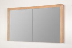 Stern Wood spiegelkast Grey Oak 120cm met verlichting led 2 deuren SW70511