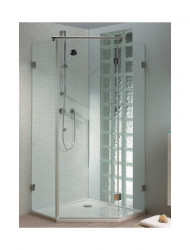Riho Scandic hoekinstap 5H 90x200 z/lift helder glas GC40200