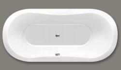 Beterbad Gomera ovaal ligbad acryl 170x75cm wit 6887-01