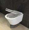 Aquadesign Rimless wandcloset met softclose zitting smal randloos wit 1208781962