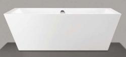 Beterbad Donna vrijstaand bad ligbad acryl 180x80cm wit 7002-01