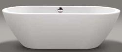 Beterbad Rens vrijstaand bad ligbad acryl 190x90cm wit 7003-01