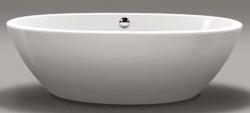 Beterbad Britt vrijstaand bad ovaal ligbad acryl 190x94cm wit 7004-01