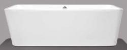 Beterbad Marina vrijstaand bad ligbad acryl 180x80cm wit 7009-01