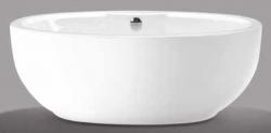 Beterbad Levi vrijstaand bad ligbad acryl 180x95cm wit 7011-01