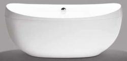 Beterbad Stijn vrijstaand bad ovaal ligbad acryl 180x84cm wit 7012-01