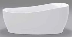 Beterbad Isa vrijstaand bad ovaal ligbad acryl 180x85cm wit 7029-01