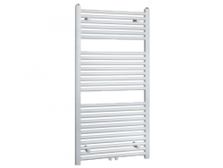 Aquadesign Handdoekradiator wit 1185x600
