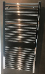 Aquadesign Handdoekradiator Chroom 1817x600