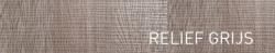 Ink Tablet onderkast 2 laden greeploos met alu keerlijst 90x45cm relief grijs 1107122