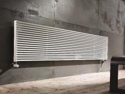Instamat Quadro designradiator 24.8 x 60 cm glanzend wit QH10