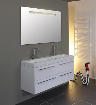 Ink spiegel SP2 60x3x80cm met geïntegreerde led verlichting en sensorschakelaar 8407700