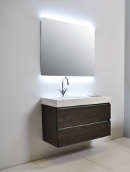 Ink spiegel SP4 60x4x80cm indirecte led boven en onderverlichting incl sensorschakelaar 8407900