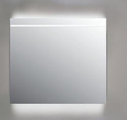 Ink spiegel SP6 60x4x80cm horizontaal geïntegreerde led verlichting indirect boven en onder led verlichting sensorschakelaar 8408400